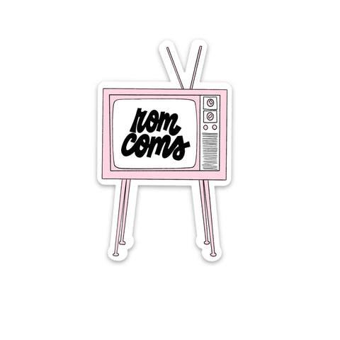 ROM COMS TV STICKER
