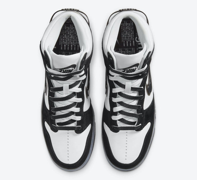Nike Dunk High Slam Jam White Black