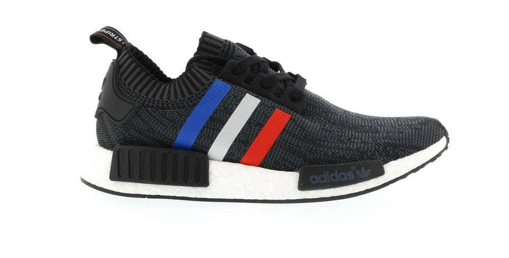 Adidas NMD R1 Tri Color Stripes Black - YankeeKicks Store