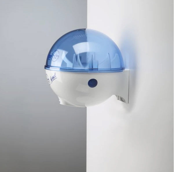 32oz Germstar® Hands Free Dispenser Blue/White (Wall Mount)
