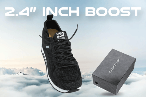 "Cloud Runners (2.4"" Boost) + FREE Height Soles - Conzuri"