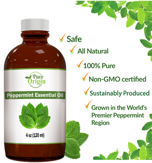 Oregon Heirloom Peppermint Essential Oil - 4 oz