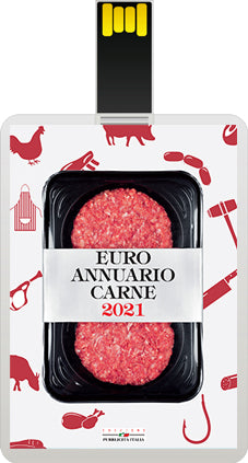 EURO ANNUARIO CARNE 2021 usb card + cartaceo