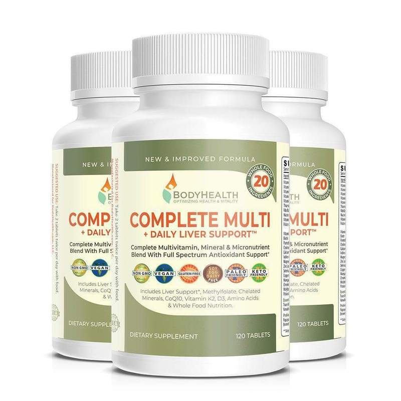 BodyHealth Complete Multi + Daily Liver Support