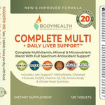Load image into Gallery viewer, BodyHealth Complete Multi + Daily Liver Support - Vita Wellness Center Canada
