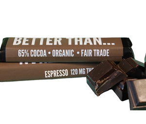 Espresso 120MG THC Chocolate Bars - Happycanabis.com