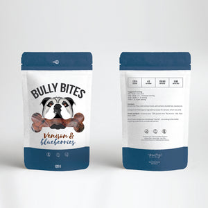 Bully Bits – Venison & Blueberries - Happycanabis.com