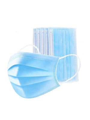 PPE – Disposable 3-ply Face Mask – 50 Pack - Happycanabis.com