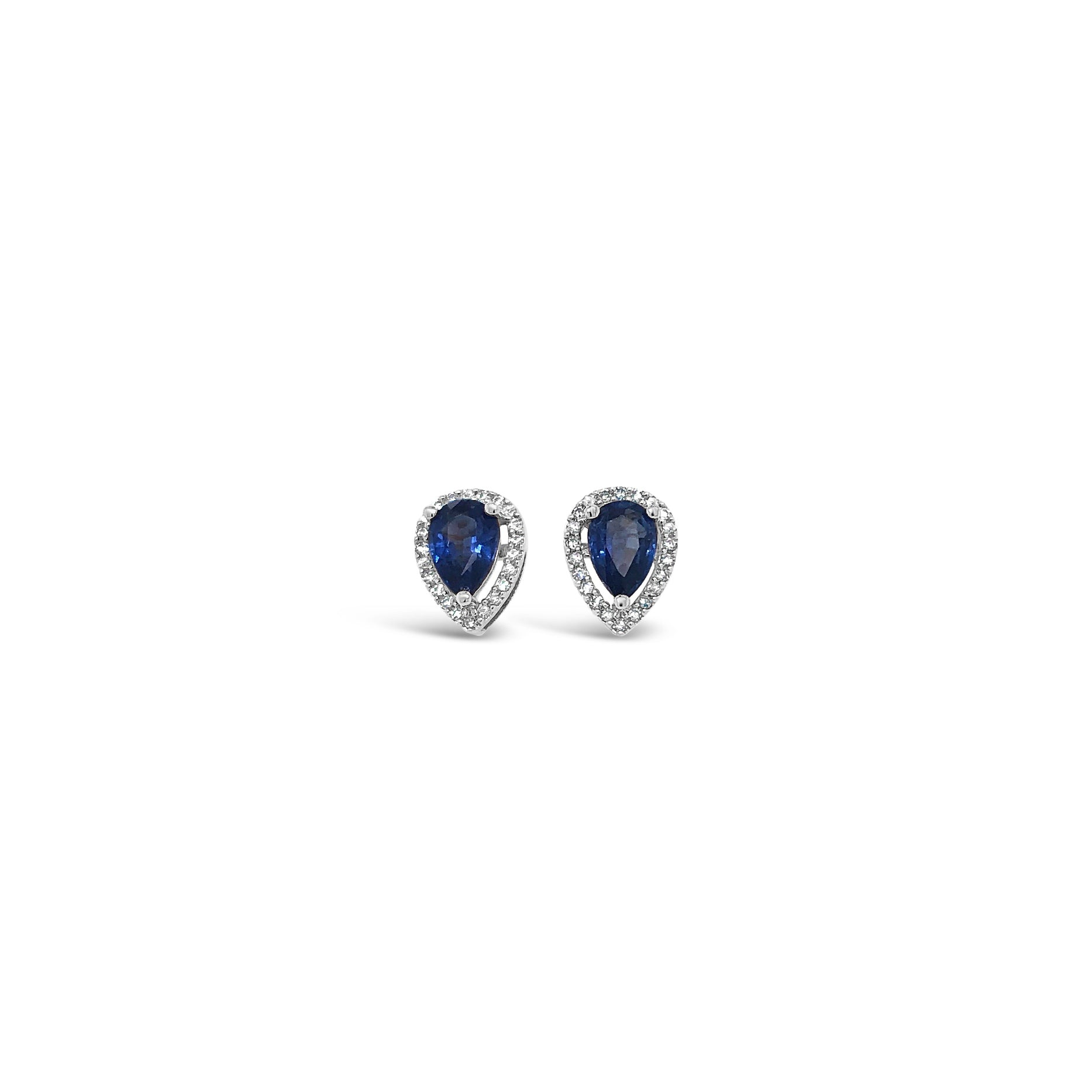 Pear Shape Kyanite Stud Earrings