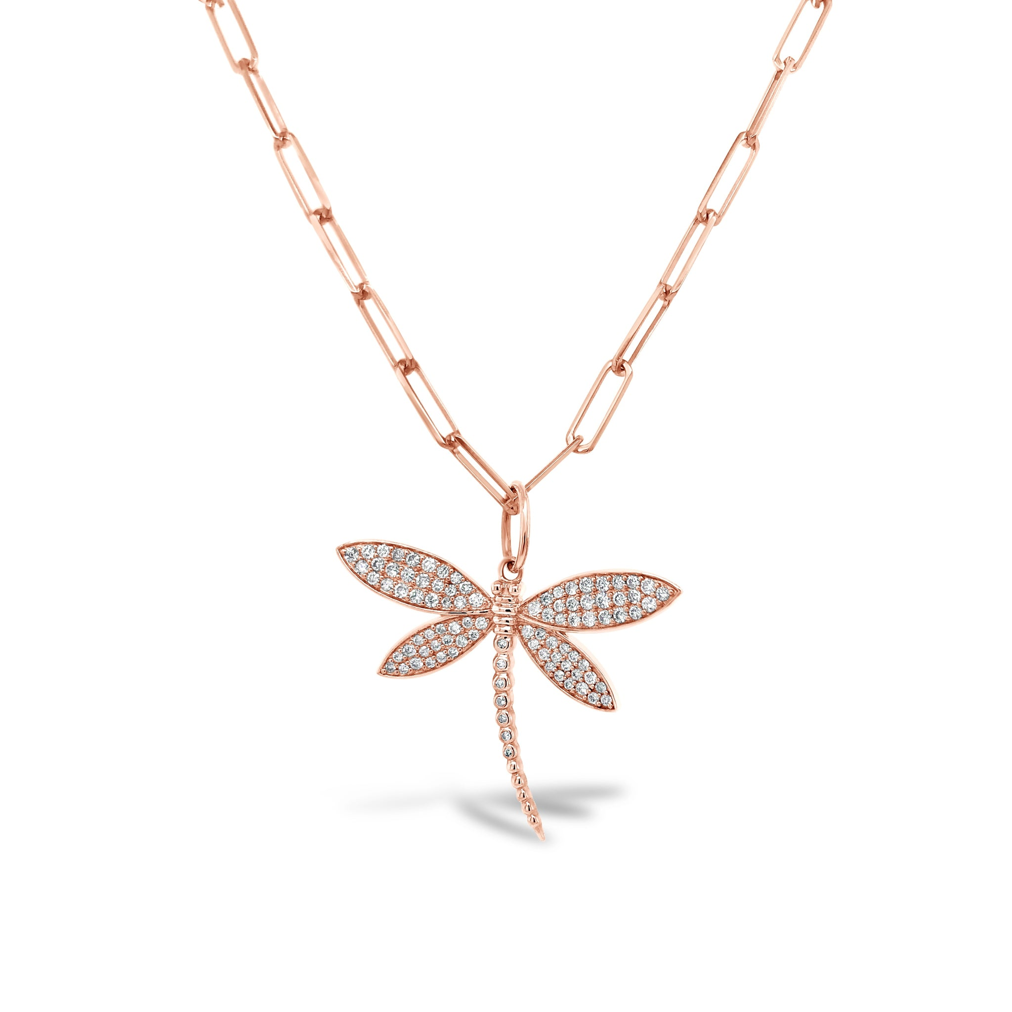 Pave Diamond Dragonfly