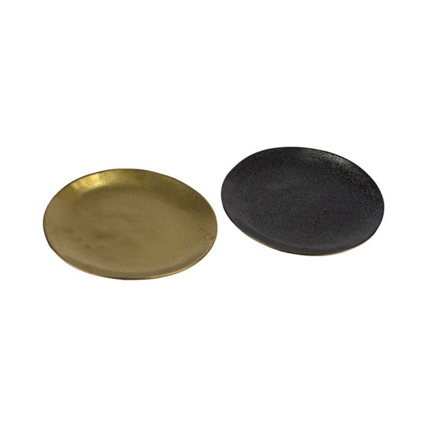 Dessertteller 2er-Set Black & Gold