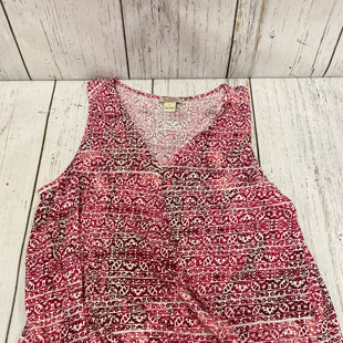 Primary Photo - BRAND: LUCKY BRAND STYLE: TOP SLEEVELESS COLOR: RED WHITE SIZE: L SKU: 144-144131-182