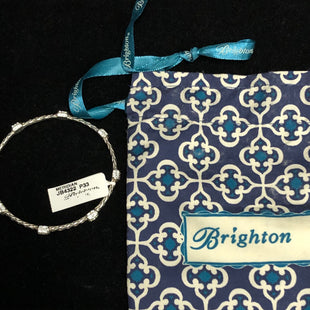 Primary Photo - BRAND: BRIGHTON STYLE: BRACELET COLOR: SILVER OTHER INFO: NEW! SKU: 144-14483-83178W/BAG