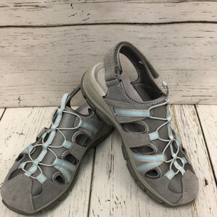 Primary Photo - BRAND: LANDS END STYLE: SHOES FLATS COLOR: GREY SIZE: 8 SKU: 144-14483-83529