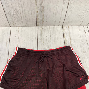 Primary Photo - BRAND: NIKE APPAREL STYLE: ATHLETIC SHORTS COLOR: BURGUNDY SIZE: XL SKU: 144-14483-81958