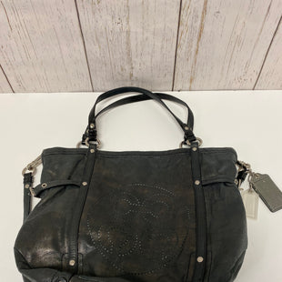 Primary Photo - BRAND: COACH STYLE: HANDBAG DESIGNER COLOR: CHARCOAL SIZE: LARGE OTHER INFO: 17064 - AUDREY CINCHED SKU: 144-14483-87772WITH DUST BAG