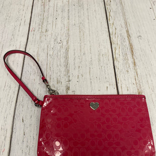 Primary Photo - BRAND: COACH STYLE: WRISTLET COLOR: PINK SKU: 144-144136-1438