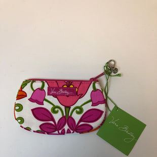 Primary Photo - BRAND: VERA BRADLEY STYLE: COIN PURSE COLOR: WHITE PINK SIZE: SMALL OTHER INFO: NEW!/CLIP ZIP ID/LILLI BELL SKU: 144-14483-90194