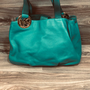 Primary Photo - BRAND: MICHAEL BY MICHAEL KORS STYLE: HANDBAG DESIGNER COLOR: TEAL SIZE: LARGE SKU: 144-14411-78060