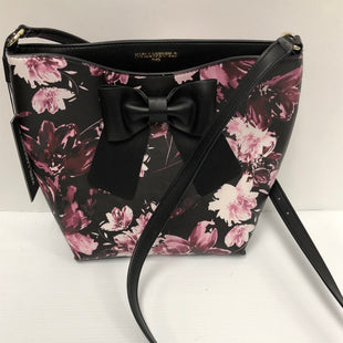Primary Photo - BRAND: KARL LAGERFELD STYLE: HANDBAG COLOR: PINKBLACK SIZE: MEDIUM OTHER INFO: NEW! SKU: 144-144103-31196