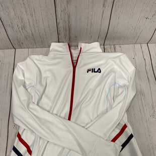 Primary Photo - BRAND: FILA STYLE: ATHLETIC JACKET COLOR: WHITE RED SIZE: XL SKU: 144-14483-86682