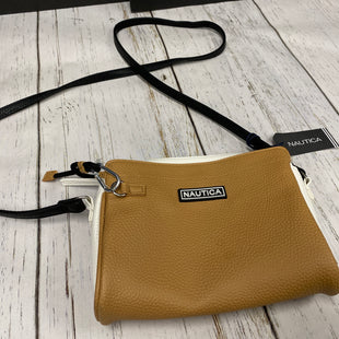 Primary Photo - BRAND: NAUTICA STYLE: HANDBAG COLOR: BROWN SIZE: SMALL SKU: 144-144137-386