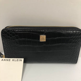 Primary Photo - BRAND: ANNE KLEIN STYLE: WALLET COLOR: BLACK SIZE: LARGE OTHER INFO: NEW! SKU: 144-14483-89098