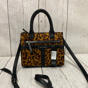Primary Photo - BRAND: T TAHARI STYLE: HANDBAG COLOR: ANIMAL PRINT SIZE: SMALL OTHER INFO: NEW! SKU: 144-144131-139