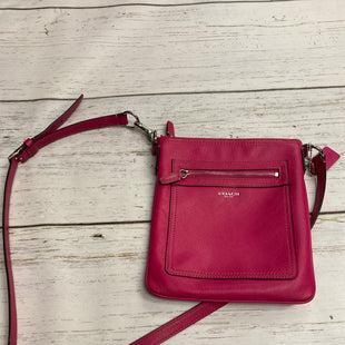 Primary Photo - BRAND: COACH STYLE: HANDBAG DESIGNER COLOR: HOT PINK SIZE: SMALL OTHER INFO: AS IS SKU: 144-144103-28979
