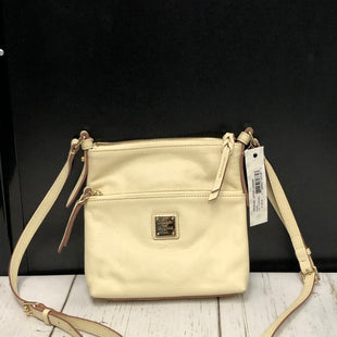 Primary Photo - BRAND: DOONEY AND BOURKE STYLE: HANDBAG DESIGNER COLOR: IVORY SIZE: SMALL OTHER INFO: NWT/ LETTER CARRIER SKU: 144-14411-74694