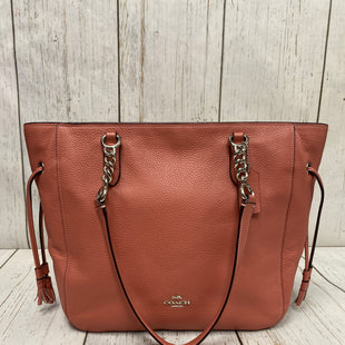 Primary Photo - BRAND: COACH STYLE: HANDBAG DESIGNER COLOR: SALMON SIZE: LARGE OTHER INFO: F72650 ELLE CHANGE T SKU: 221-22195-674