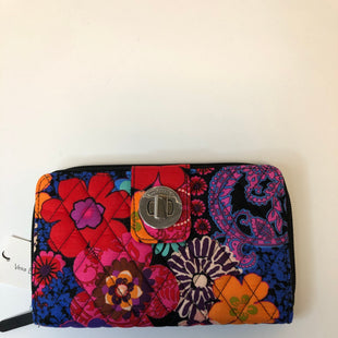 Primary Photo - BRAND: VERA BRADLEY STYLE: WALLET COLOR: FLORAL SIZE: LARGE OTHER INFO: NEW/TURNLOCK/FORAL FIESTA SKU: 144-14483-90191