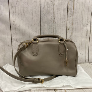 Primary Photo - BRAND:    CLOTHES MENTOR STYLE: HANDBAG COLOR: TAUPE SIZE: LARGE OTHER INFO: CUORE PELLA  - CELESTE SATCHELWITH DUST BAG SKU: 144-144127-2220