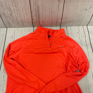 Primary Photo - BRAND: UNDER ARMOUR STYLE: ATHLETIC TOP COLOR: CORAL SIZE: L SKU: 144-144137-872