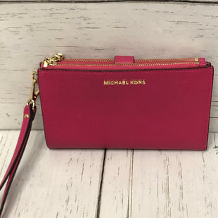 Primary Photo - BRAND: MICHAEL KORS STYLE: WALLET COLOR: FUSCHIA SIZE: LARGE SKU: 144-14483-86637