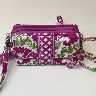 Primary Photo - BRAND: VERA BRADLEY STYLE: HANDBAG DESIGNER COLOR: WHITE PINK SIZE: SMALL OTHER INFO: JULEP TULIP/ALL IN 1 CROSSBODY SKU: 144-14483-90198