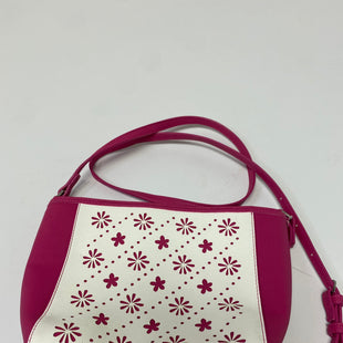 Primary Photo - BRAND: VERA BRADLEY STYLE: HANDBAG DESIGNER COLOR: PINK SIZE: SMALL OTHER INFO: NEW! - FUSCHIA/WHITE/FLOWER LINES SKU: 144-14483-87616