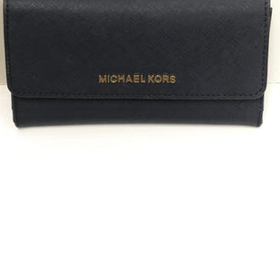 Primary Photo - BRAND: MICHAEL KORS STYLE: WALLET COLOR: NAVY SIZE: MEDIUM SKU: 144-14483-89097