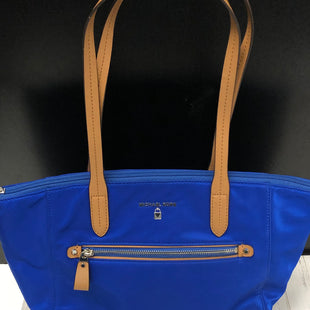 Primary Photo - BRAND: MICHAEL KORS STYLE: HANDBAG COLOR: BLUE SIZE: MEDIUM OTHER INFO: NYLON/KELSEY/ADMIRAL NAVY SKU: 144-144138-511