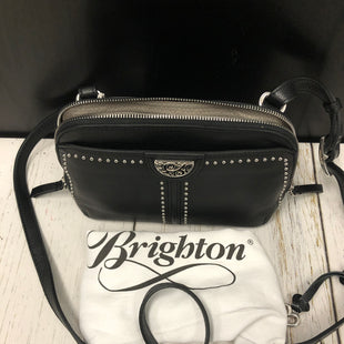 Primary Photo - BRAND: BRIGHTON STYLE: HANDBAG DESIGNER COLOR: BLACK SIZE: SMALL OTHER INFO: NEW! - JO MINT DOMBED ORGANIZER SKU: 144-14483-85021