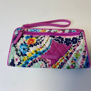 Primary Photo - BRAND: VERA BRADLEY STYLE: WALLET COLOR: PINKGREEN SIZE: LARGE OTHER INFO: WILDFLOWER PAISLEY SKU: 144-14411-75937