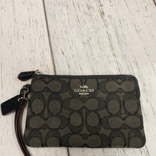 Primary Photo - BRAND: COACH STYLE: WRISTLET COLOR: BLACK SKU: 144-144112-9313