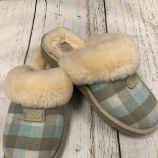 Primary Photo - BRAND: UGG STYLE: SLIPPERS COLOR: PLAID SIZE: 8 SKU: 144-144136-1325