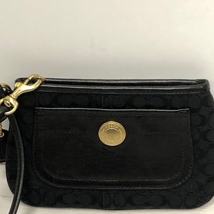 Primary Photo - BRAND: COACH STYLE: WRISTLET COLOR: BLACK SKU: 144-14483-85972