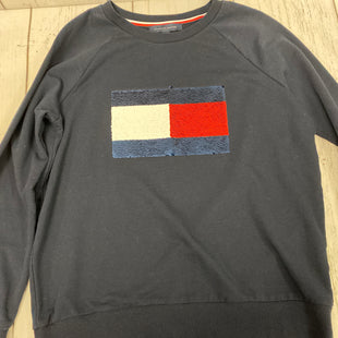 Primary Photo - BRAND: TOMMY HILFIGER STYLE: TOP LONG SLEEVE COLOR: NAVY SIZE: M SKU: 144-144136-1364