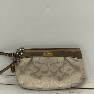 Primary Photo - BRAND: COACH STYLE: WRISTLET COLOR: TAN SKU: 144-14483-85975