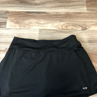 Primary Photo - BRAND: CHAMPION STYLE: ATHLETIC SKIRT SKORT COLOR: BLACK SIZE: M SKU: 144-14411-76943