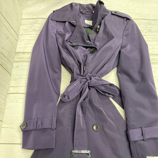 Primary Photo - BRAND: CALVIN KLEIN STYLE: JACKET OUTDOOR COLOR: PURPLE SIZE: S OTHER INFO: W/ZIP LINING SKU: 144-14483-85454