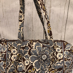 Primary Photo - BRAND: VERA BRADLEY CLASSIC STYLE: TOTE COLOR: GREY SIZE: LARGE OTHER INFO: SLATE BLOOMS - RETIRED SKU: 144-14483-87672