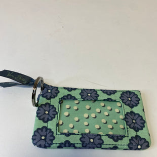 Primary Photo - BRAND: VERA BRADLEY STYLE: COIN PURSE COLOR: BLUE GREEN SIZE: SMALL OTHER INFO: NOMADIC BLOSSOM SKU: 144-14411-75956